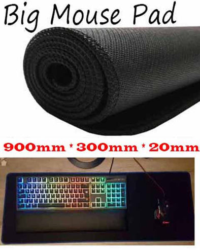 900 x 300mm x 20mm  Large Mouse Pad