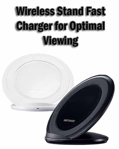 Fast Wireless Charger for IPhone X XR XS Max 8 Plus Qi Quick Charge for Samsung Galaxy Note 9 8 S8 S9 Xiaomi Charging Induction