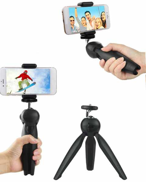 Yunteng YT-228 Mini Tripod Flexible Portable Stand Holder for Smartphone DVR CAM