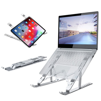 【SG Seller】Portable Laptop Stand Foldable Adjustable Support Base Non-slip Notebook Holder