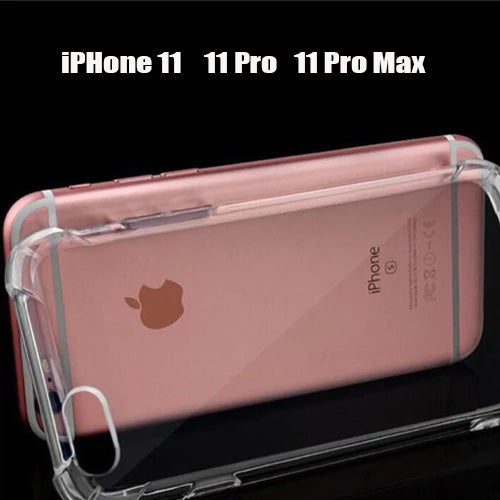 (2pcs ) iPhone Series  Case Airbag shockproof Clear TPU Cover Casing