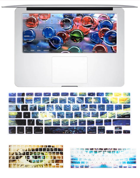 "Macbook Keyboard Skin for 13 - 15 "" Macbook & Apple Wireless keyboard"