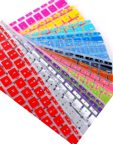 Charming Silicone Keyboard Skin Cover Film For Apple Macbook