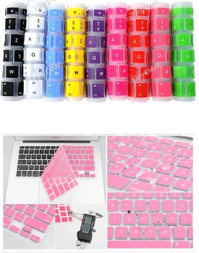 "Protective Silicone Keyboard Cover Skin for MacBook 13""-15"""