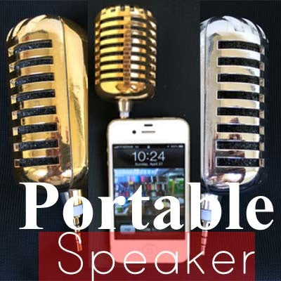 Portable Speaker for iPhone iPad Samsung