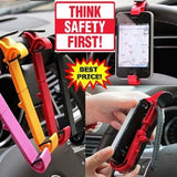 #E Mobile Holder Car Steering Wheel Phone Cradle Mounted Holder And Smart Clip For Car/Bike Mobile Phone Accessories