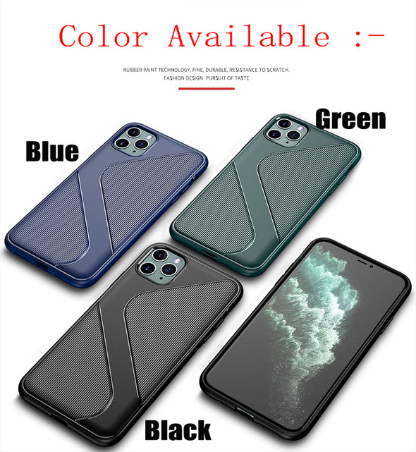 Shockproof Silicone Cover [Enhanced Camera and Screen Protection]