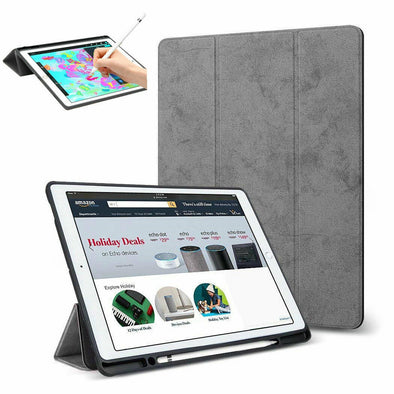 "Shockproof Smart Slim Stand Case With Pencil Holder For New iPad 9.7"" Pro 10.5"""