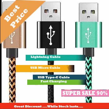 2 in 1 Micro USB & Type-C Cable,2 in 1 Micro USB & Lighning,3 in 1 Micro USB & Lightning & Type-C