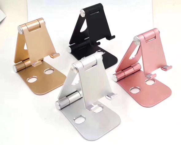 Foldable Phone Stand Holder For iPad Tablet iPhone Samsung Galaxy Edge Aluminum Table Charger