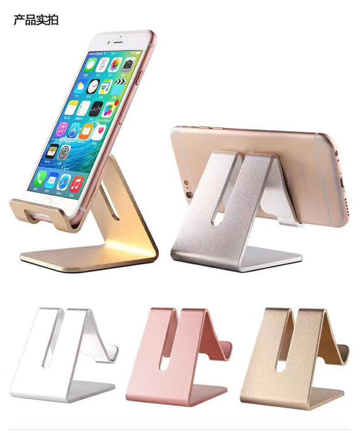 Phone Stand Holder For iPad Tablet iPhone Samsung Galaxy Edge Aluminum Table Charger