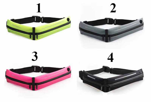Mobile Waist Strap★Water Resistant★Shoulder Waist Mobile Pouch★Outdoor Sports Pocket★Up To 6 Inches