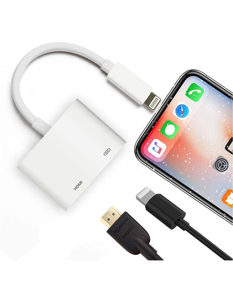 1080P Lightning to HDMI Cable Digital TV AV Adapter for Apple iPhone