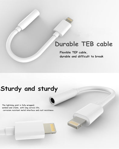 MicroUSB / Apple Lightning / Audio transfer Cables 3.5mm/IPHONE CABLE