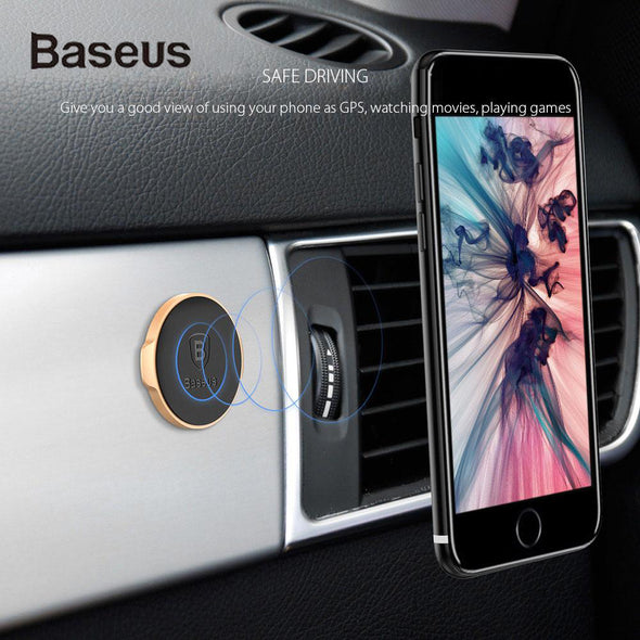 ReadyStock Singapore BASEUS Small Ears Series Magnetic Suction Bracket Car Phone Holder