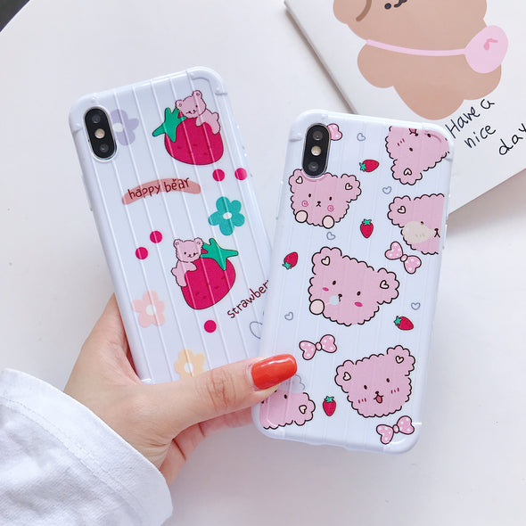 iPhone Soft TPU Case for i6 i7/8 iX iphone 11