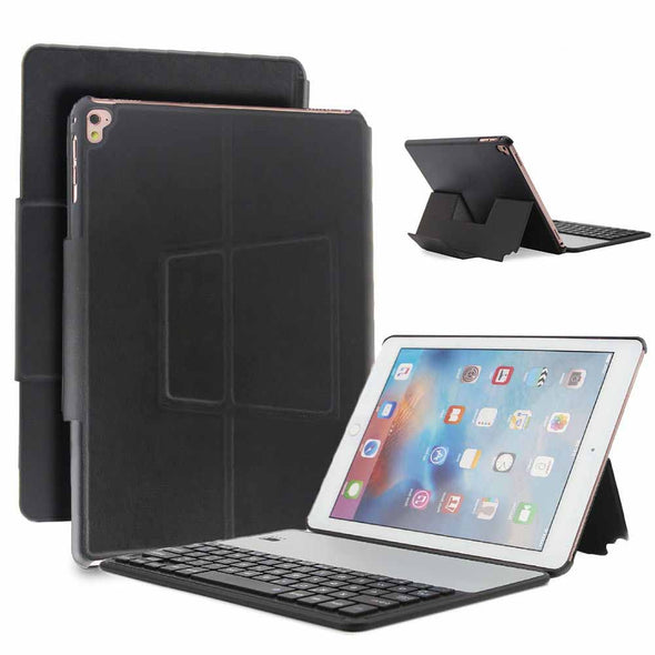 Smart Bluetooth Keyboard Leather Stand Case