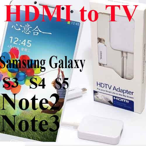 Micro USB MHL 2.0 To HDMI HDTV Adapter Cable for Samsung Galaxy S3 S4 S5 Note 2 Note 3