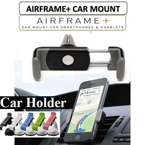 Airframe+ #AirframePlus Portable and Universal Car Holder Auto Cellphone Bracket Mount Automobile Air Vent Mobile Phone Holder Universal For iPhone 6 plus Samsung galaxy note4 (up to 8.4cm in width)
