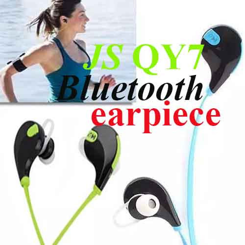 JS QY7 Bluetooth Earpiece