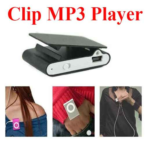 Clip Metal Type MP3 Player
