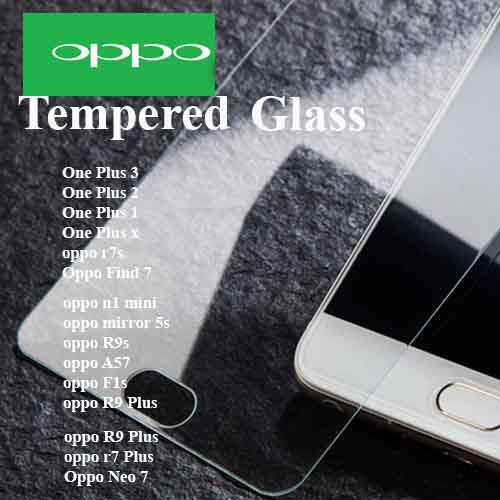 OPPO full range tempered Glass