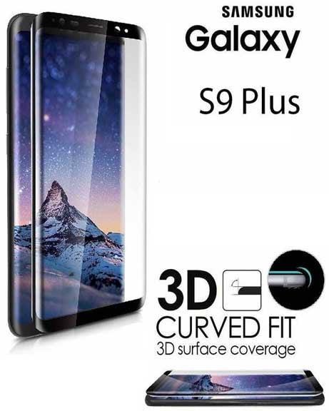 Tempered Glass 3D Curved S9 Plus