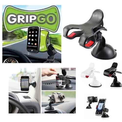 Car accessories/Fly car mount holder/Car Universal Holder Mount Stand/GripGo Mobile Phone Car Holder/Mobile Phone Car Holder GPS Navigation Mount iPhone 4 5 6 Samsung S3 S4 S5 Grip Go