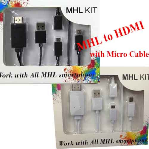 MHL to HDMI Micro USB to HDMI TV Cable