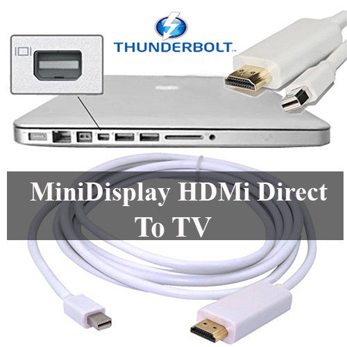 HDMI to thunderbolt Mini Display Direct HDMI to TV