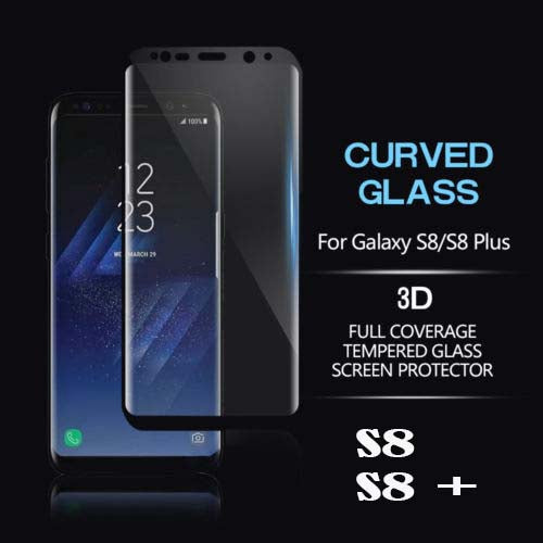 S8,S8 Plus 3D Cruved Tempered Glass