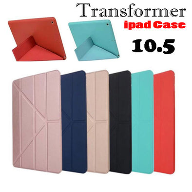 iPad 10.5 Case,Ultra Slim Lightweight Multi-fold Stand Flip Leather Case Auto Wake/Sleep Smart Cover