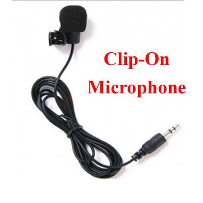 Microphone Clip On