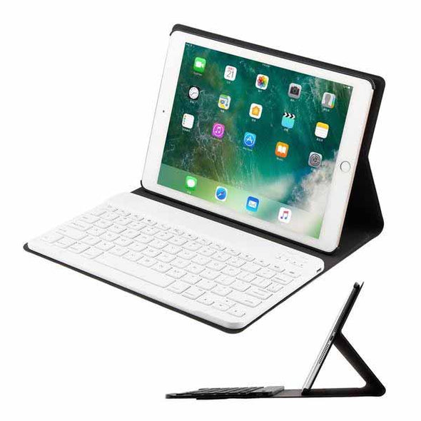 lim Leather Case Cover& Detachable Bluetooth Keyboard