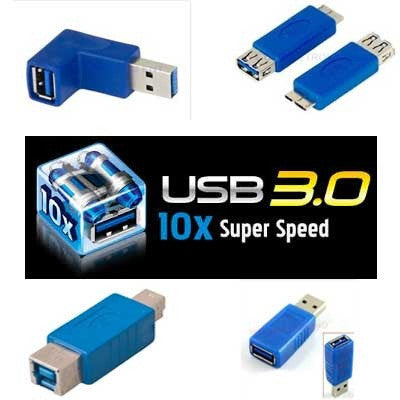USB 3.0 SuperSpeed Adapters