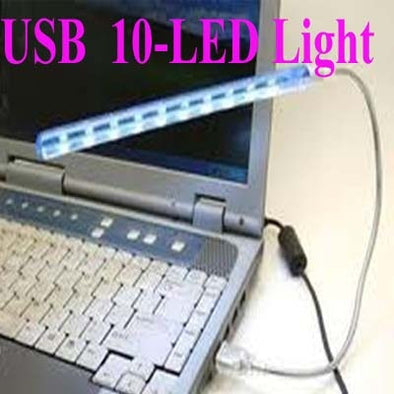 [ 2 pcs ] LED 150lm White Bendable USB Light