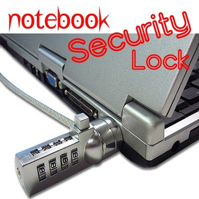 Laptop Notebook Security Lock 4 HP DELL Apple Sony