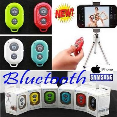 Bluetooth Remote Shutter Selfie for Apple and Samsung
