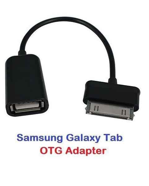 Samsung Galaxy Tab Tablet P1000 30 Pin to USB Female Host OTG Adapter Cable Kit