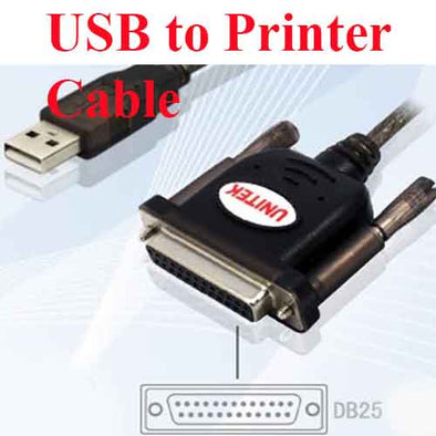 USB to DB 25 Cable