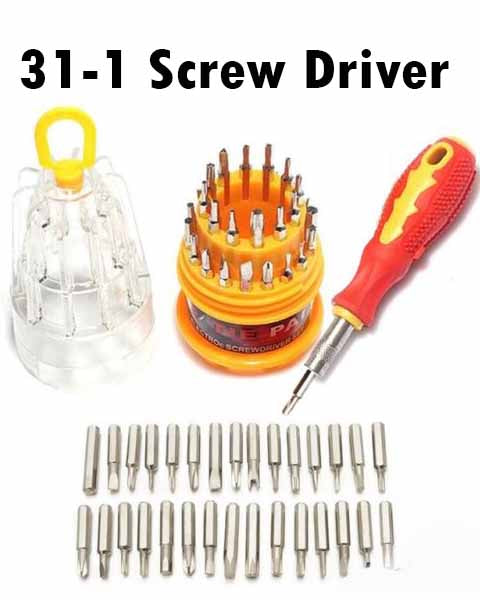 31 to 1 Screw drivers