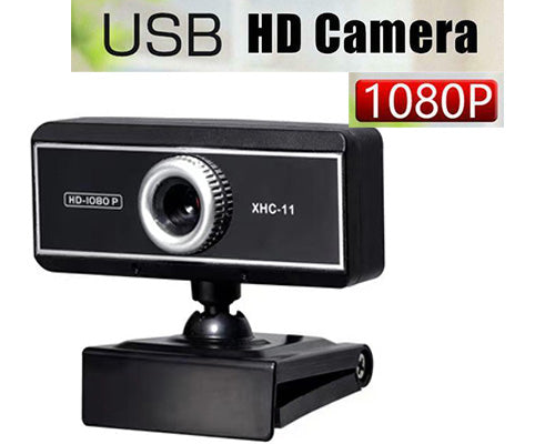 Webcam 1080P 130° Wide Angle Auto Focus Webcam HD USB Plug and Play Desktop Laptops Webcam Buil-in Microphone