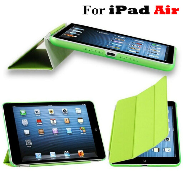 Slim Smart Case  Leather Stand Magnetic Cover for iPad Air