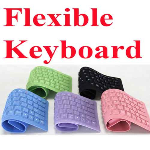USB Flexible WaterProof Keyboard