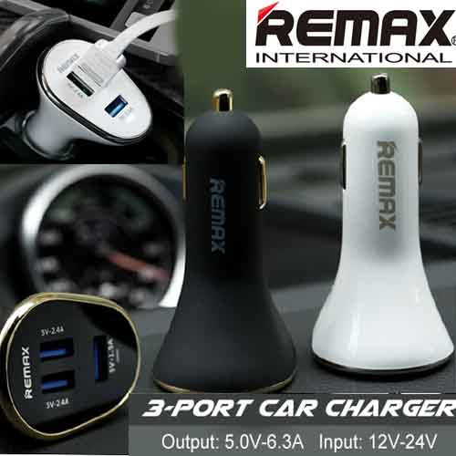 Remax 2 dual 3 port Car Charger Remax