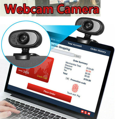 12M Pixels 640 480 Resolution Rotable Adjustable Webcam Computer