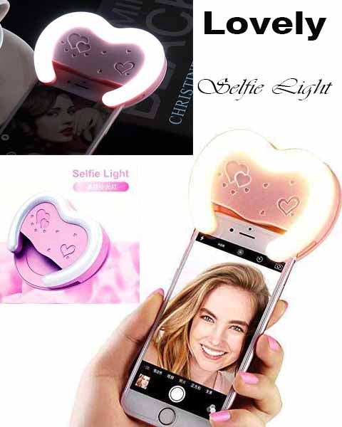 SELFIE Mirror FLASH LIGHT for iPhone Android Galaxy Note Phone Multiple Photography