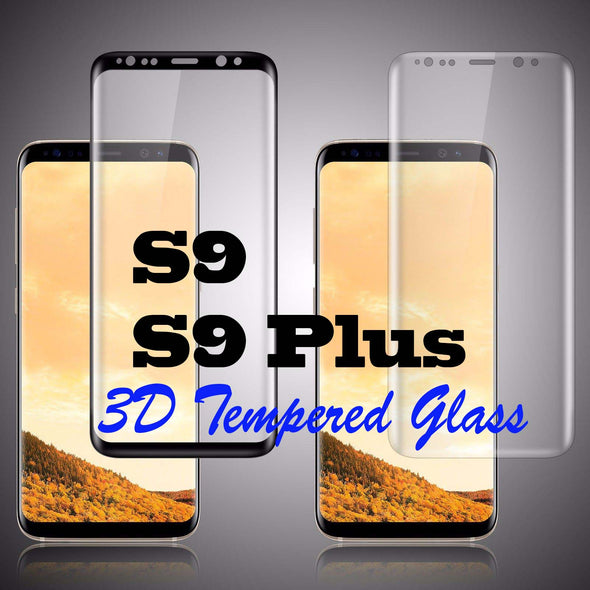 S8,S8 Plus,S9,S9 Plus,Note 8, Note 7 3D Cruved Tempered Glass