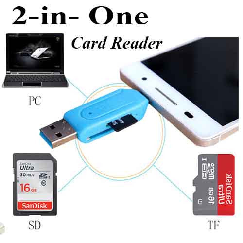 Universal Micro USB SD Card Reader Micro USB OTG adapter for Android Mobile Phone USB Flash Drive TF Card Reader