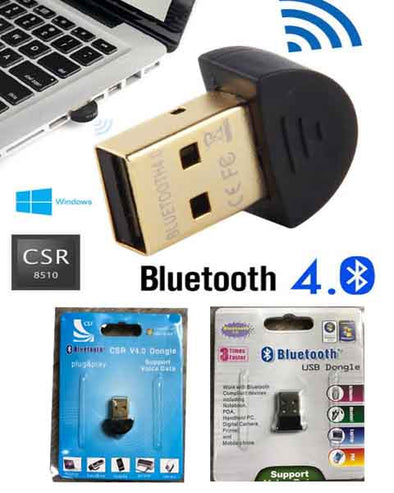 Bluetooth dongle 2.0 ★ 4.0 ★ Adapter / Laptop / Computer